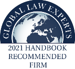Global Law Experts 2021 Handbook Süle Law Firm